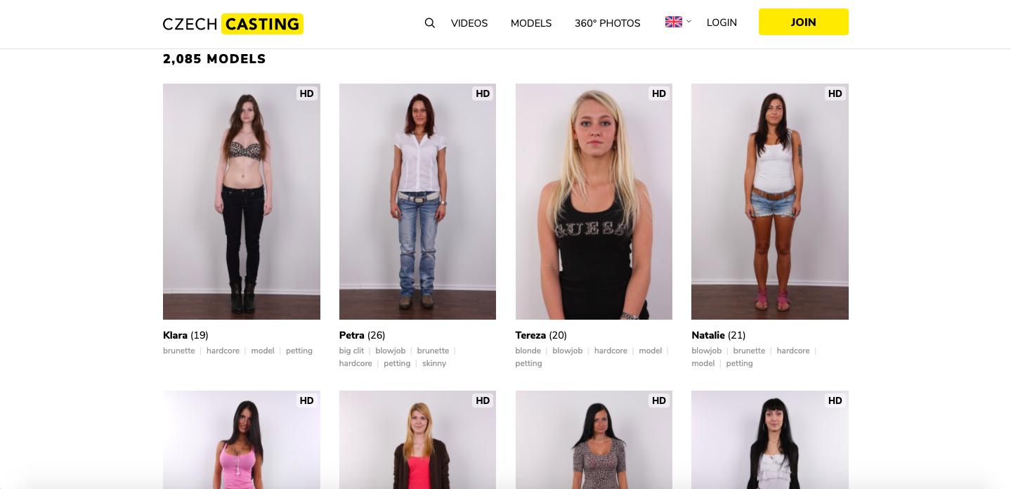 Casting models czech Czech Casting