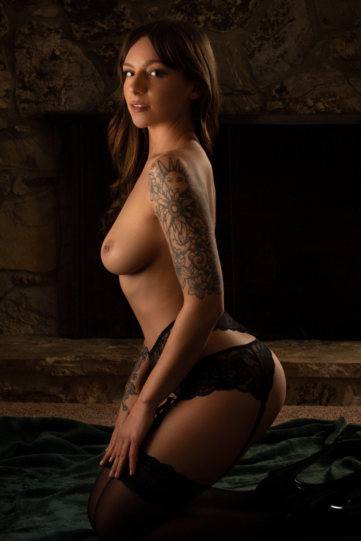 April Olsen luscious tits