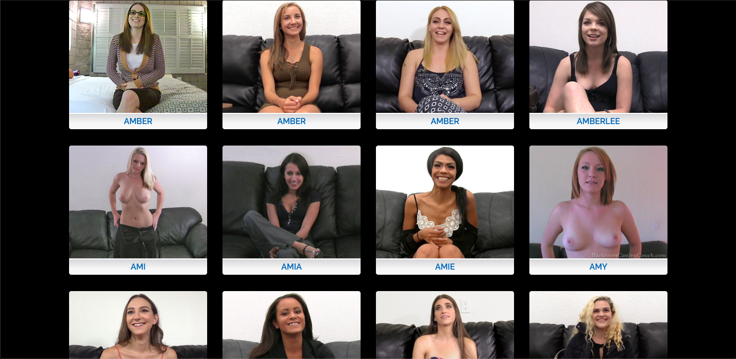 backroom casting couch girls