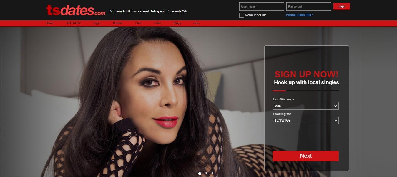 TSDates homepage